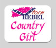 pink mousepad confederate girls dixie