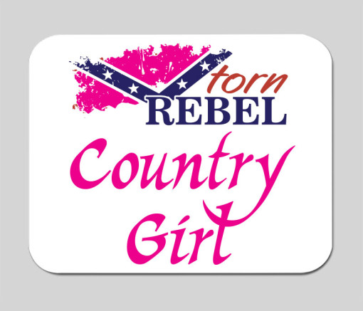 counrty-girl-mouse-pad-rebel-flag-confederate