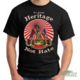 heritage not hate confederate shirt